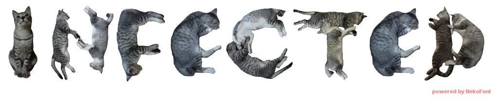 INFECTED cat