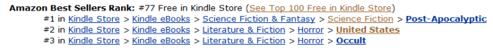 Still increasing and -- BONUS -- now it's topping 3 categories!