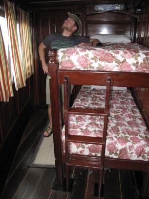 Our private bunk.