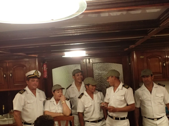 The crew of the Tucano (guides not pictured).