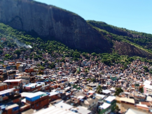 "One of Rio's many ""favela"" slums. Yep, we went here."