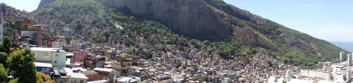 Rocinha is the largest favela in Rio.