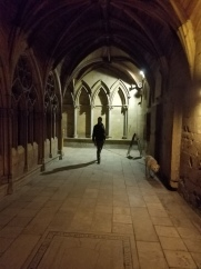 The lighting and architecture seemed very gothic to this untrained observer.