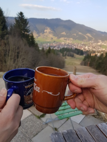 Though we went at the start of springtime, this is still mountain country and there was a chill in the air at night. Some warm mulled wine helped immensely.