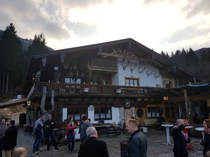 "The ""hidden"" restaurant up the mountain, the Kolben-alm."