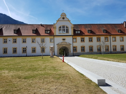 Monastery living quarters.